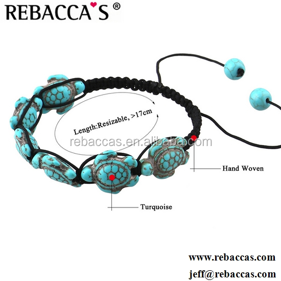 Rebaccas Antique silver jewelry animal design turquoise turtle bracelet pave diamond