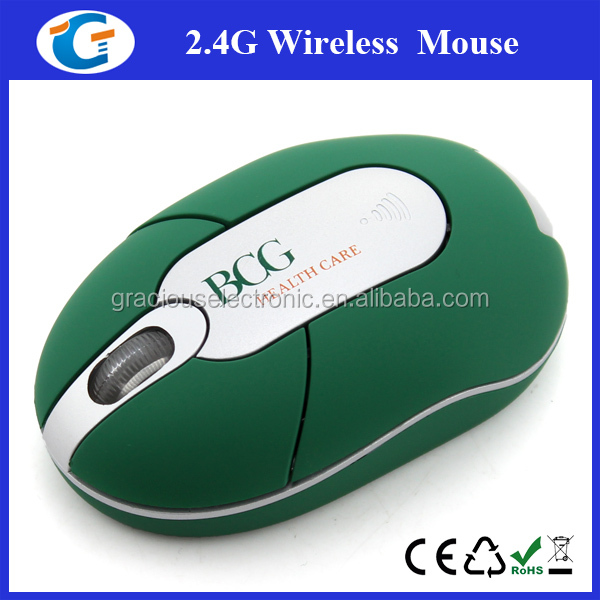 Driver USB 3d mini cute wireless optical mouse for promotional gift