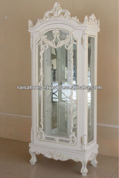 Exceptionnel French Furniture   FRENCH 1D DISPLAY CABINET