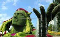 life size large top party artificial landscape uv resin plastic animal leaf alphabet letter Liberty statue E08 23Q2
