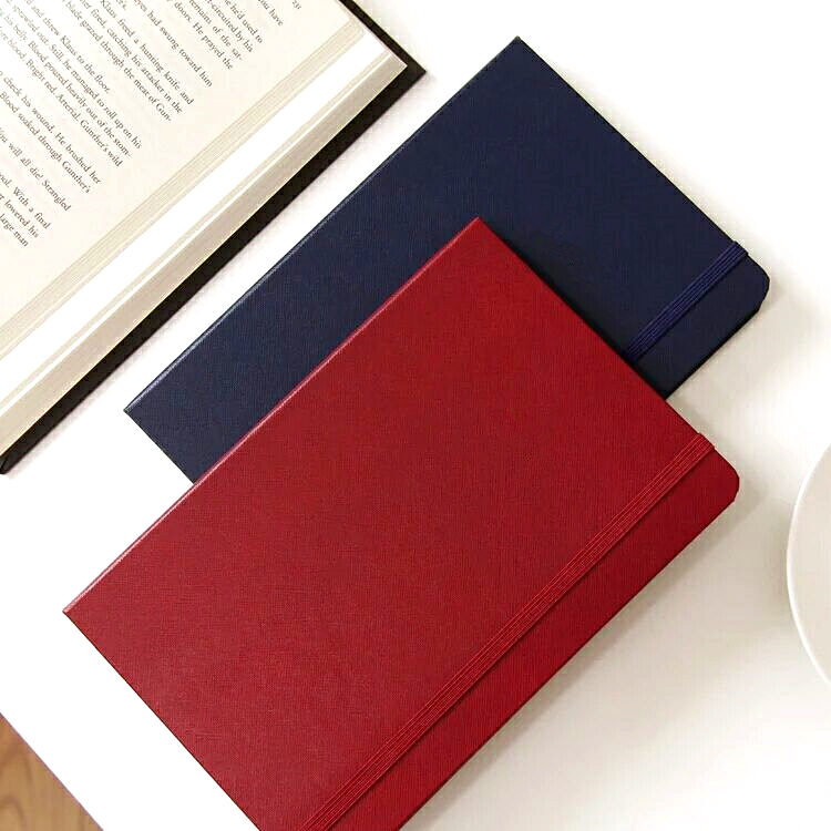 Professional factory custom logo Leather Notebook for promotion