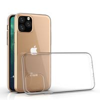 Soft TPU Back Cover For iPhone XI Case Clear Transparent TPU Phone Case For iPhone 11 Case 2019 mobile phone XI