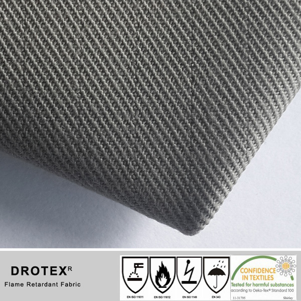EN11611&EN11612 Cotton Twill Fire Retardant Fabric protective garments