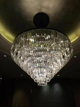 Modern clear k9 crystal drops chandelier for hotel ball room over modern clear k9 crystal drops chandelier for hotel ball room over table center aloadofball Gallery