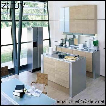 Armário De Cozinha Branco Do Laca Do Mdf Do Cremearmário De Cozinha