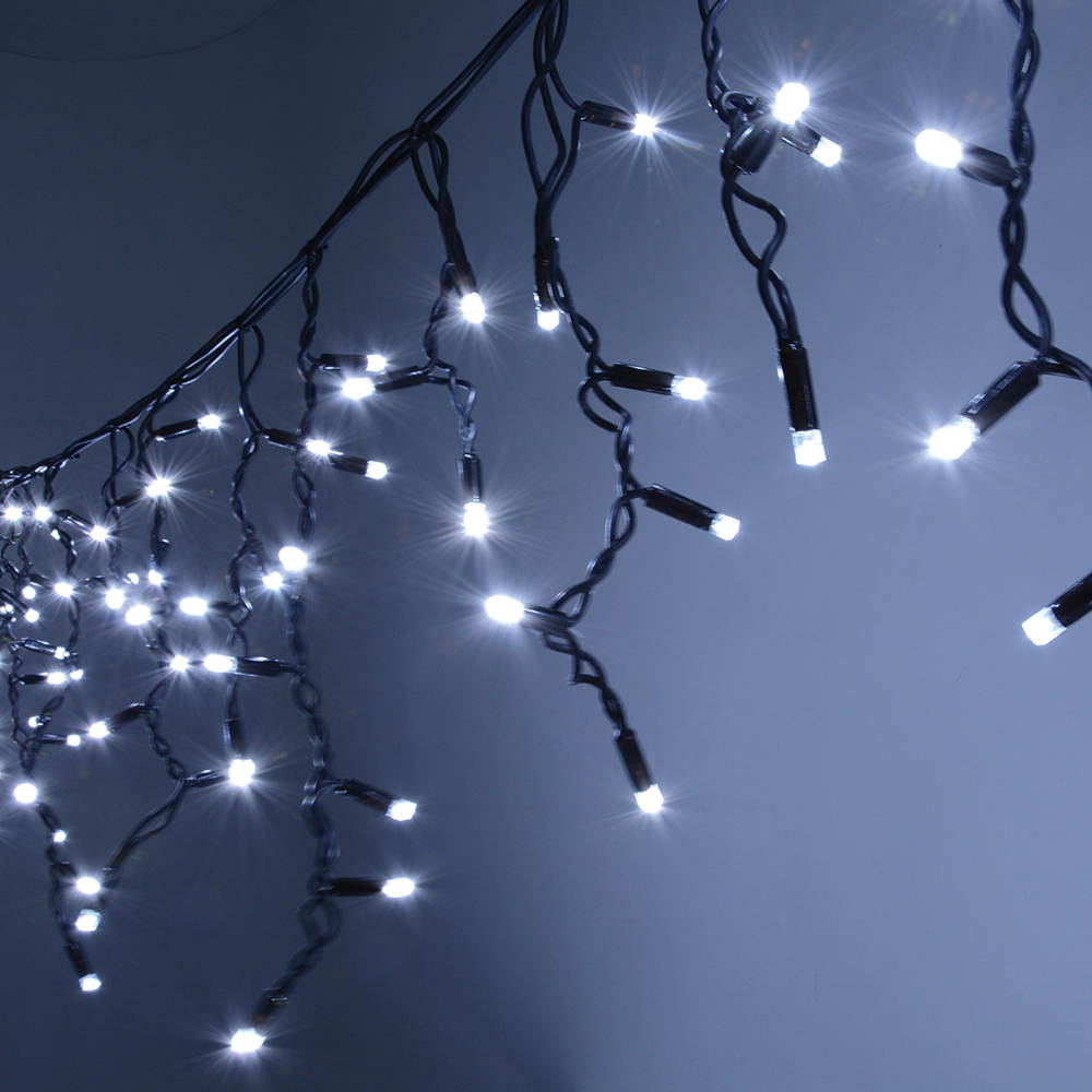 outdoor/indoor decoration led string curtain fairy light christmas outdoor led icicle light light