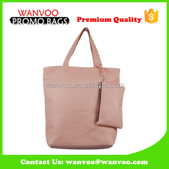 Hot Selling Famous Brand Lightweight PU Leather Ladies Handbag