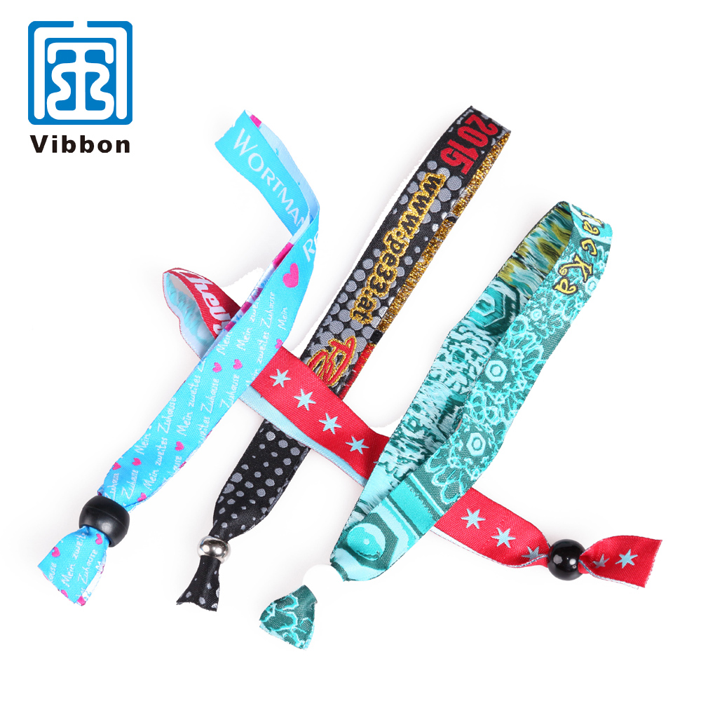OEM ODM चीन नंबर 1 आपूर्तिकर्ता कस्टम बुना wristbands घटनाक्रम के लिए