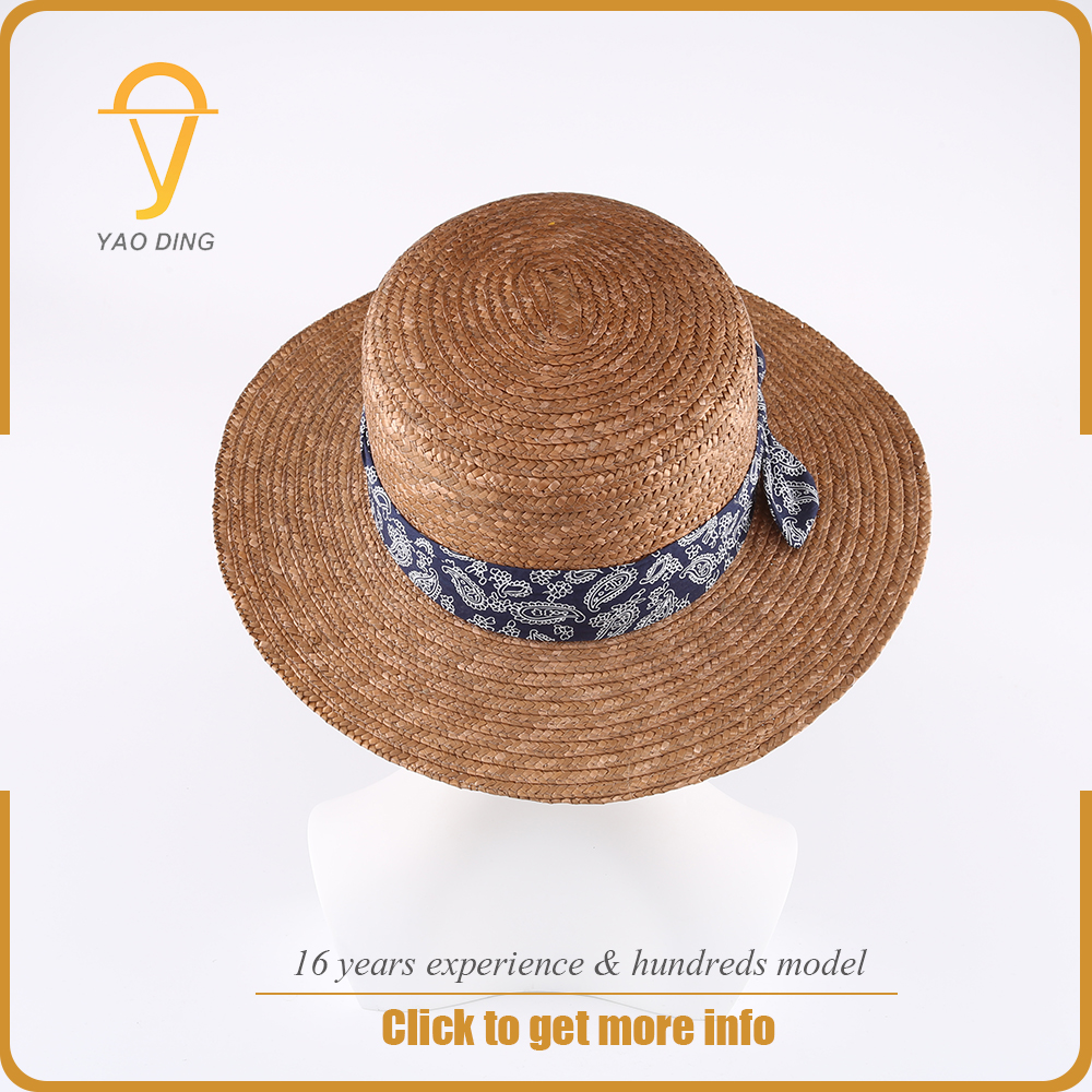 Taobao chinese millinery hat bases paper straw simple sun boater hard womans party hats for women