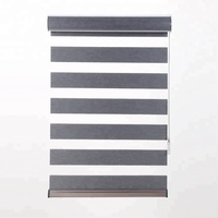 Hot new products sunshading blackout motorised zebra blinds with great price