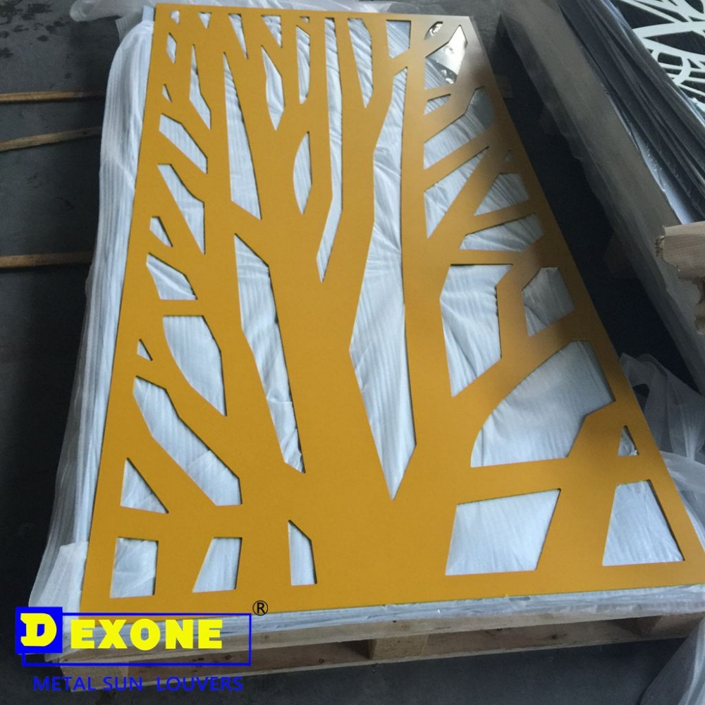 Cnc Decorative Metal Aluminum Carved Wall Panel - Buy Decorative ...