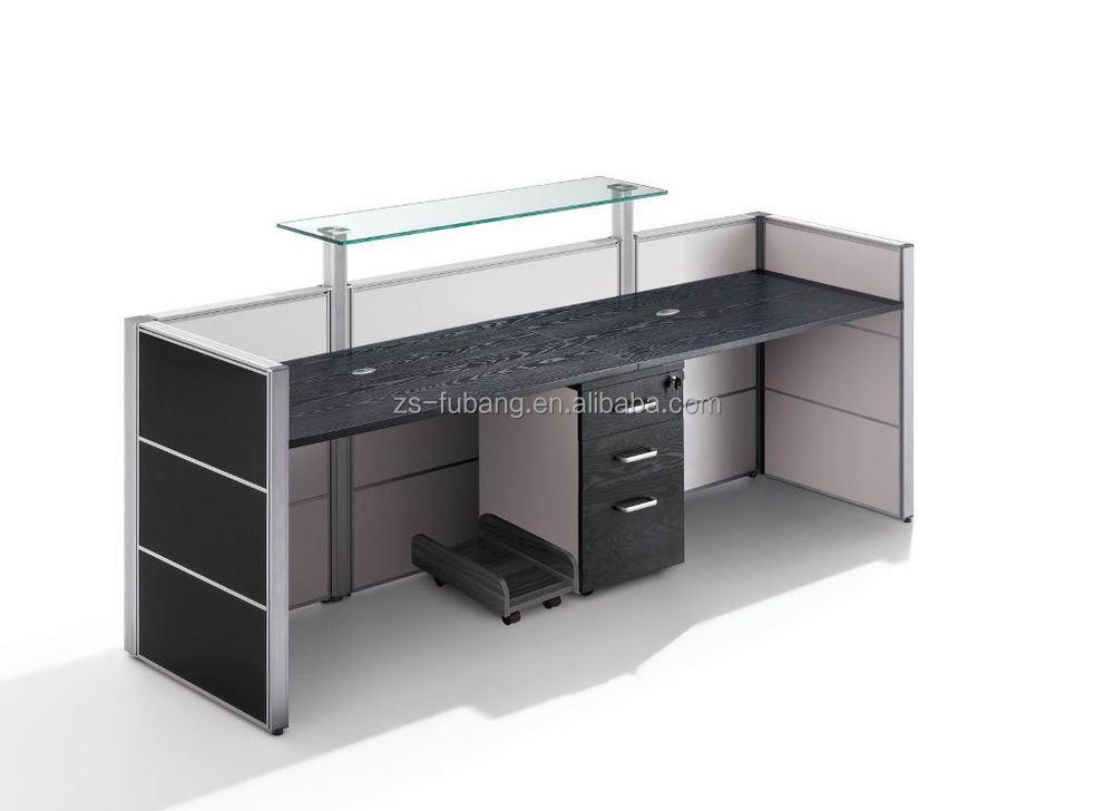 black color furniture office counter design. high class black oak wood gym hotel office reception front desk counter design color furniture n