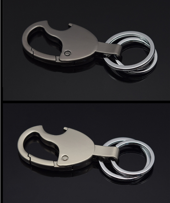 Wholesale Creative Metal Simple Business Design Keychain Bottle Opener Pendant