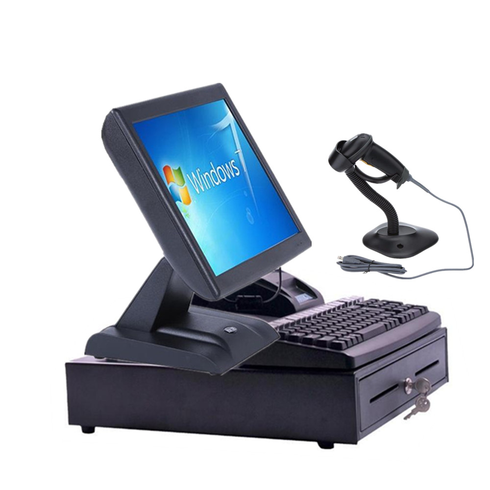 "Factory wholesale 15"" 10"" pos solutions/pos all in one pc with Intel NM10 Express Chipset"