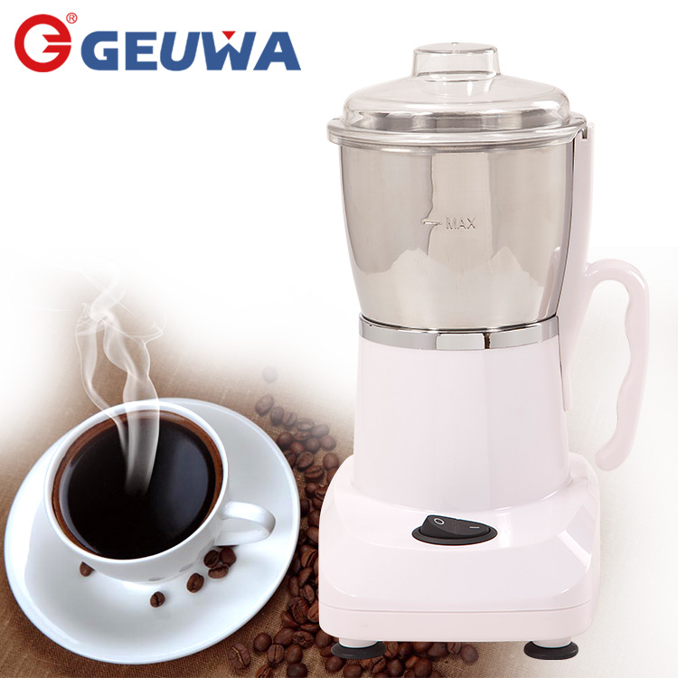 personal professional geuwa electric coffee grinder burr with lovely mini shape B30 for household