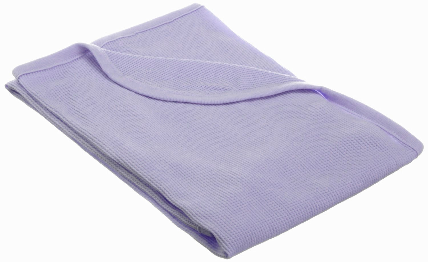 """American Baby Company 30""""X 40""""-Soft100% Cotton Thermal/WaffleSwaddleBlanket, Lavender"""