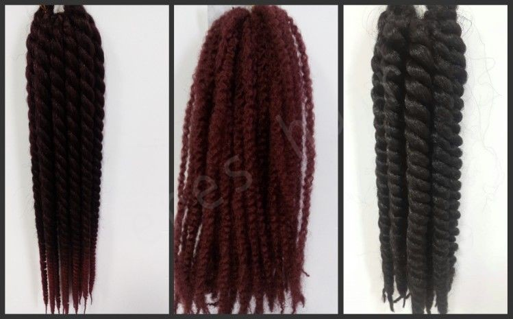 Different Styles And Sizes Crochet Braids Extension In Stock - Buy ...