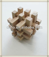 Wooden Block Wood Puzzle Toy/3D puzzle wooden toy