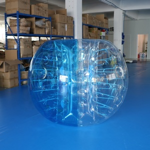 Manufacturer high quality 1.5m TPU inflatable bubble football / bubble ball soccer / bumper balls for adults
