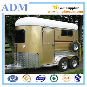 China high quality 2 horse trailer for sale