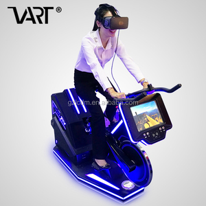 Hot Sell New Structure GTI 9D Virtual Reality Electric Bike For All Ages, vr bicycle fitness games
