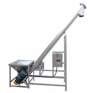 hot sale new hopper auger stainless steel screw conveyor