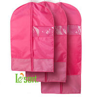 Online Order/ Wholesale Polyester Garment Bags Suit Cover -S, M, L