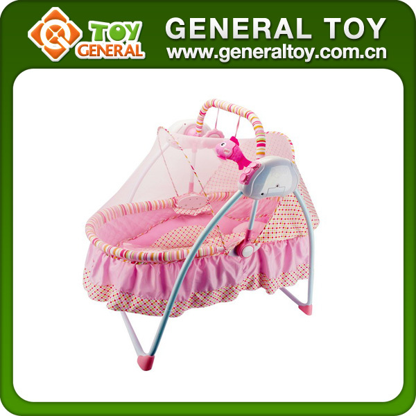 2015 New Style Environmental Folding Baby Automatic Cradle Swing