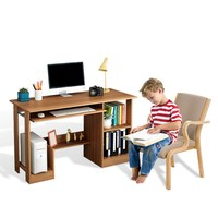 modern design solid wood study computer table