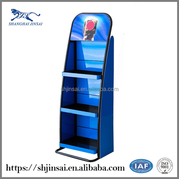 Portable Stand Flooring Store Steel Shoe Rack