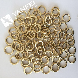 1 inch Solid Brass Endless Round Ring