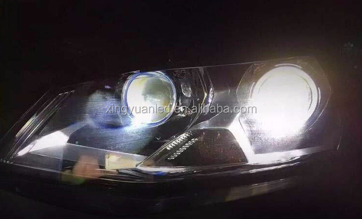 35W or 40W High Low Beam 2 PCS LED Double Light Projector Headlight