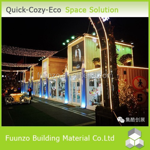 Easy Assembly Customized Flat-pack Container Pre fabric House