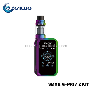 SMOK G-PRIV 2 Kit 230W Touch Screen Starter Kit Smok G Priv 2 With 4ml TFV8 X-Baby Tank
