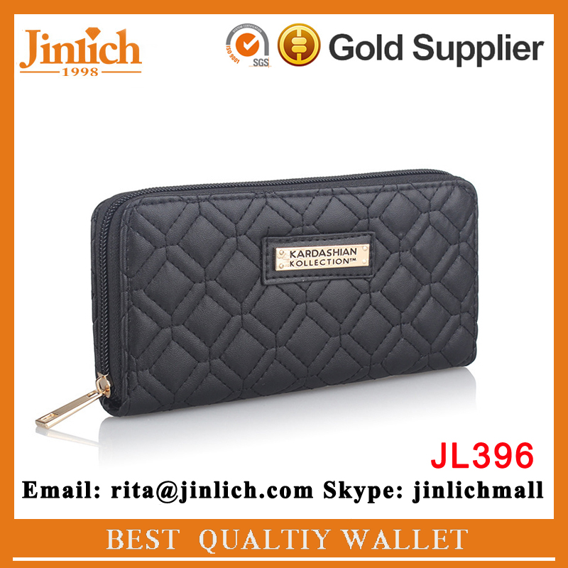 alibaba china suppliers Top 10 <strong>wallet</strong> brands women quilted zipper <strong>wallet</strong> coin money holder