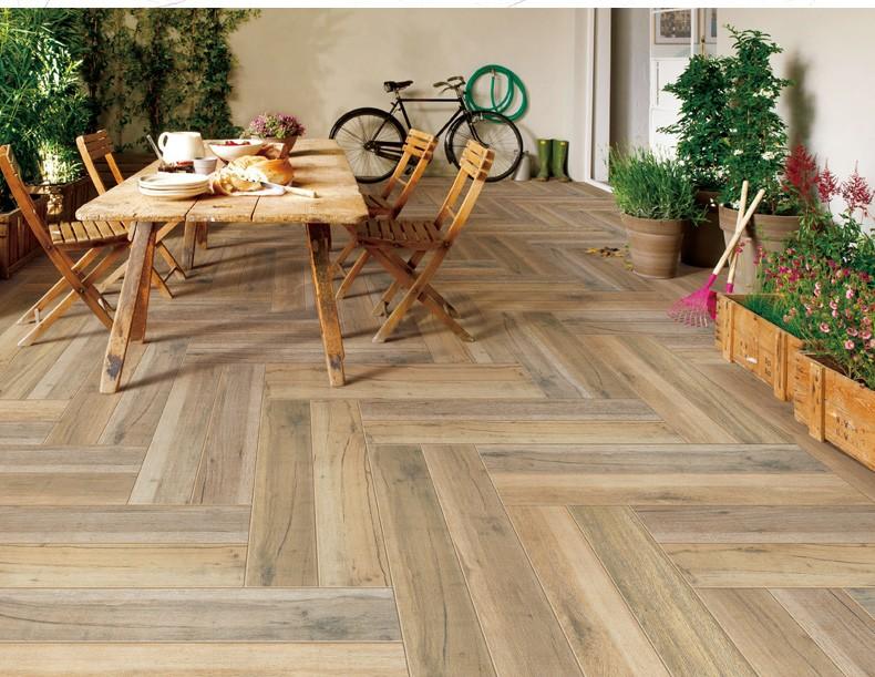 Hot Sale Floor Price Porcelain Floor Tile Looks Like Wood Wooden ...