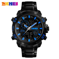 SKMEI new design chronograph multifunctions metal sport watch digital