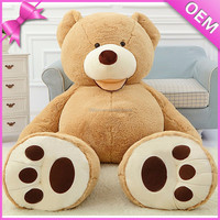Popular hot selling ICTI audit large stuffed animals 250cm, 300cm teddy bear plush toy for gift