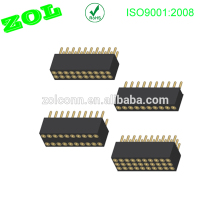 1.27 mm pitch IC Socket Connectors