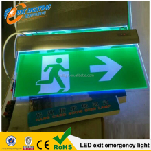 rechargeable emergency led exit sign light / lamp