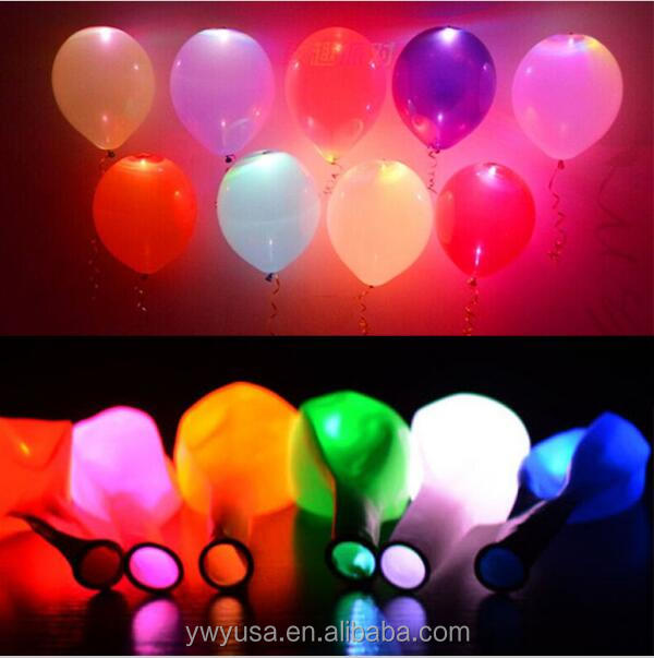 LED ballon balloon light up balloon for new year 2018 novelty balloon