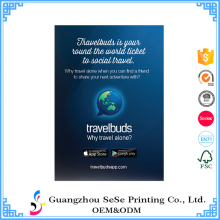 Good quality black light poster Paper Poster Printing for advertising