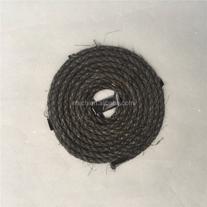 black color sisal rope, use for pet or packing