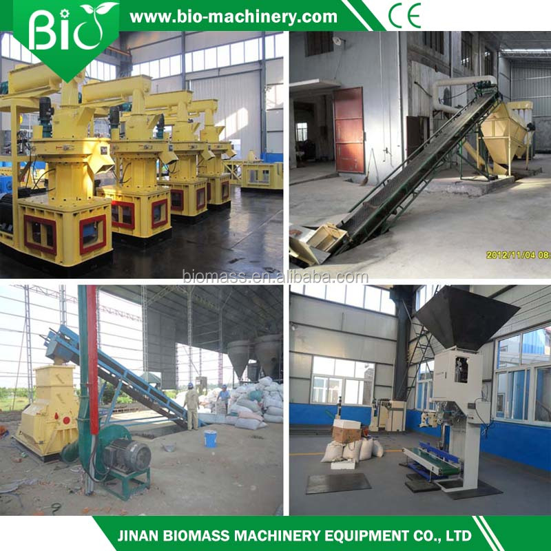 widely used beech/acacia pellet production line