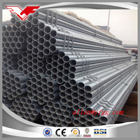 ASTM A53 A500 BS1387 Grade B carbon steel pipe with galvanized or oil in the surface BRAND YOUFA IN CHINA