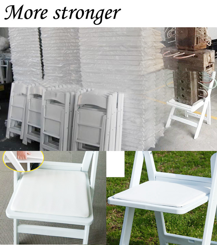 Modern Outdoor Furniture White Resin Wedding Chairs For Sale Jc H144 Buy Wh