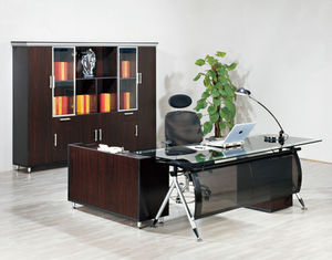 office table executive ceo desk office desk glass desktop executive desk