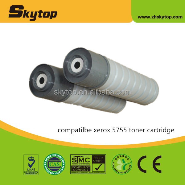 Chinese supplier Skytop toner cartridge for xerox wc5655 black copier toner