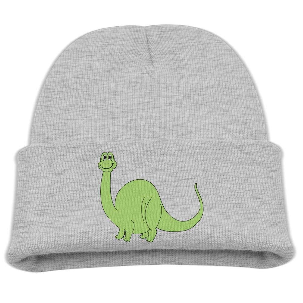 Aiw Wfdnn Kids Knit Cap Cute Green Dinosaur Cool Skull Hat for Boys/Girls