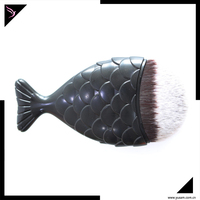 New Cosmetic Mermaid spade Makeup Brush fish shape make up brush tool